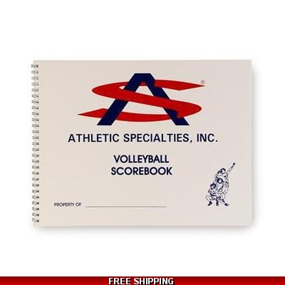 Athletic Specialties Volleyball Scorebook