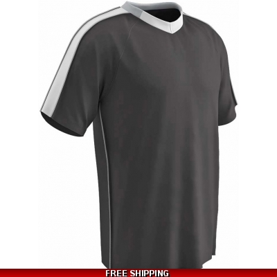 Champro Mark Soccer Jersey SET blk/slver/wht 25 PIECES