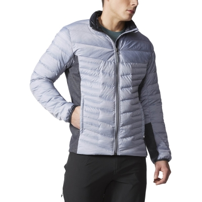 Adidas Alpherr J V Jacket AA1859 onix/charcoal TRUE DOWN FILL