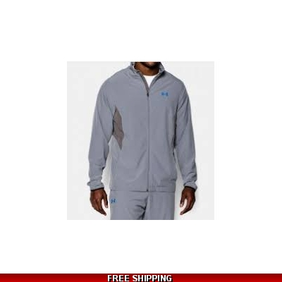 Under Armour Mens All Season Jacket grey/royal XLarge 1253557