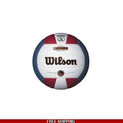 Wilson ICOR WTH7700 NFHS VOLLEYBALL red/white/blue