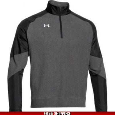 Under Armour Mens 1/4 Zip Fleece Top