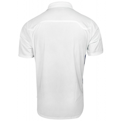 Russell Mens Gameday Polo WHITE/BLACK 440LUMK sort sleeve