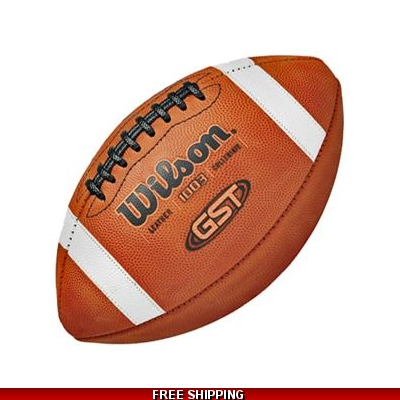 Wilson BLEM 1003 GST leather footballs CASE OF 6