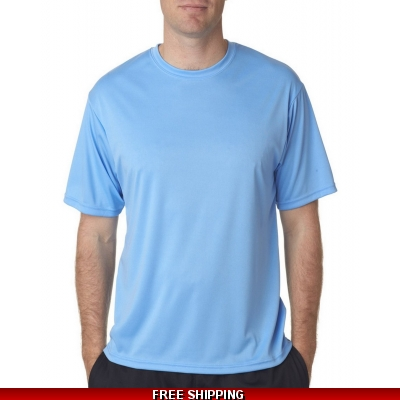 C2 Sport Columbia Blue short sleeve Sport Dri Fit T ADULT SMALL