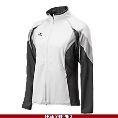 MIZUNO LADIES VB JACKET 440320 BLACK/WHITE XLARGE
