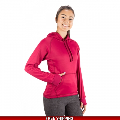Covalent Ladies Favorite Hoodie 5033 Magenta Red MEDIUM