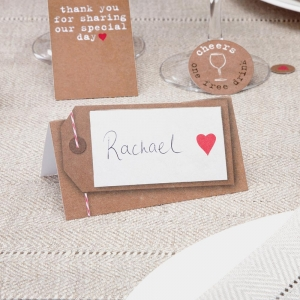 Just My Type Place Cards - Pack of 50
