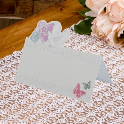 With Love Place Cards - Pack of 50
