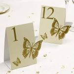 Elegant Butterfly Ivory and ..