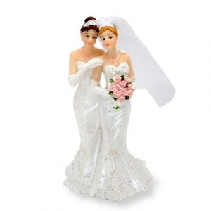 Mrs & Mrs Brides Cake Topper