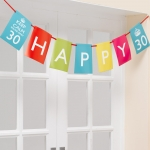 Keep Calm - Paper Bunting Aged