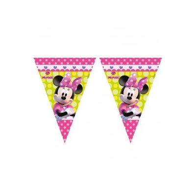 Disney Minnie Mouse Triangle Flag Banner