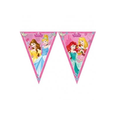 Disney Princess Triangle Flag Banner