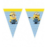 Minions Triangle Flag Banner