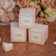 Geo Blush Favour Boxes