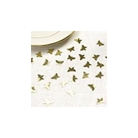 Elegant Gold Butterfly Confetti