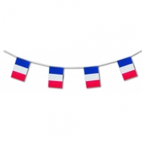 France International Flag Bunting