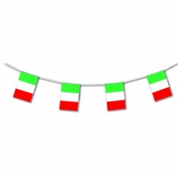 Italy International Flag Bunting