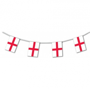 England St Georges Flag Bunting
