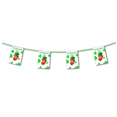 St Patricks Day Leprechaun Bunting