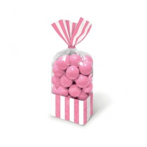 Sweetie Cello Bags - Pink Stripe