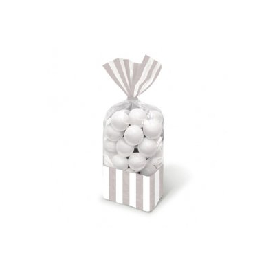Sweetie Cello Bags - Silver Stripe