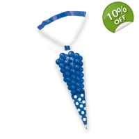 Candy Cone Polka Dot Treat Bags -..