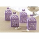 Lantern Favour Boxes - Lilac - Pack of 50