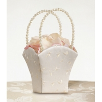 Elegant Embroided Weddng Basket I..