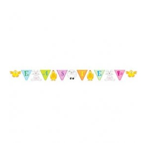 Easter Bunny Pennant Banner