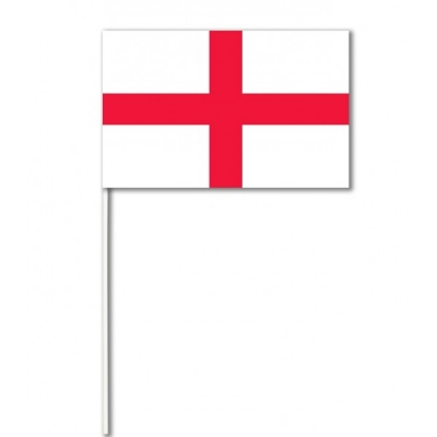 England Paper Hand Waving Flags