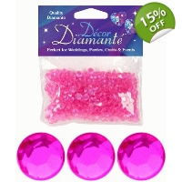 Tiny Table Diamantes 28g - Hot Pink