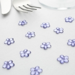 Flower Shaped Table Diamante..