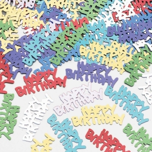 Happy Birthday Multi Coloured Confetti