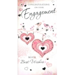 Congratulations on Your Engagement with Best Wishes Card