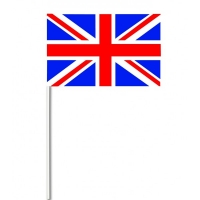 Union Jack Small Polyester Hand Waving Flags