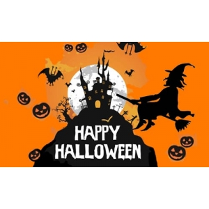 Happy Halloween Flag 3 ft by 2ft