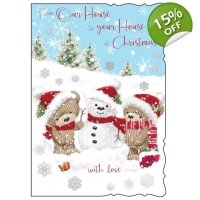 From Our House to your House at Christmas Card