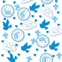 First Holy Communion Blue Confetti - 14g
