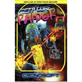DEEP CORE RAIDER    Sinclair ZX Spectr..