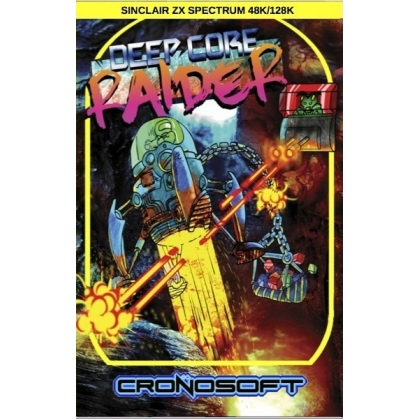 DEEP CORE RAIDER    Sinclair ZX Spectrum 48K cassette