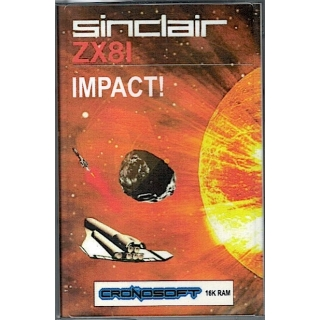 IMPACT    Sinclair ZX81 + 16K RAM, on ..
