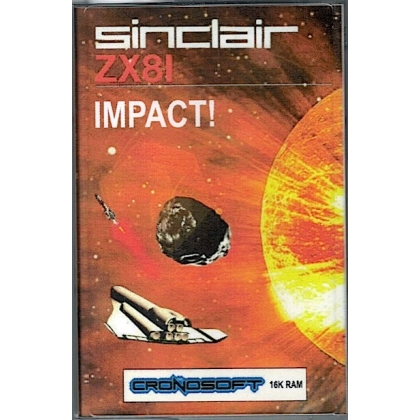 IMPACT    Sinclair ZX81 + 16K RAM, on cassette