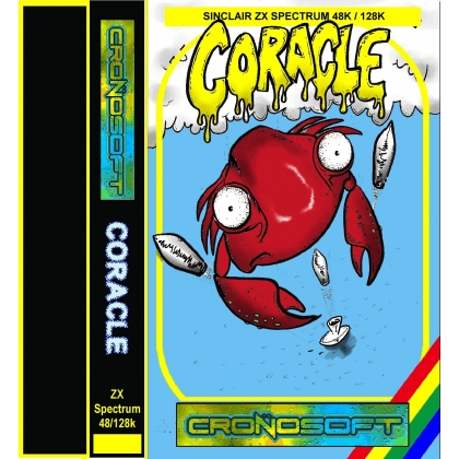 CORACLE - Sinclair ZX Spectrum 48K cassette
