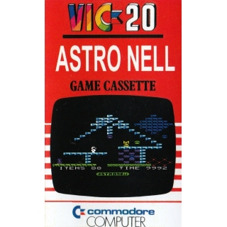 ASTRO NELL  VIC 20 unexpanded on casse..