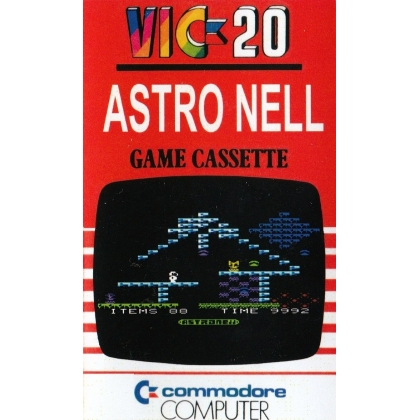 ASTRO NELL  VIC 20 unexpanded on cassette