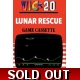 LUNAR RESCUE - VIC 20 unexpanded CASSETTE TAPE