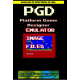PLATFORM GAME DESIGNER EMULATOR VE..
