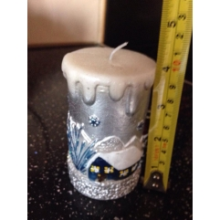 Lovely snow scene Candle